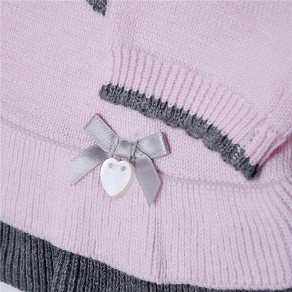 Bluesbaby PP0173/2pcs Pink Grey nadrágos csecsemőgarnitúra - Brendon - 137203