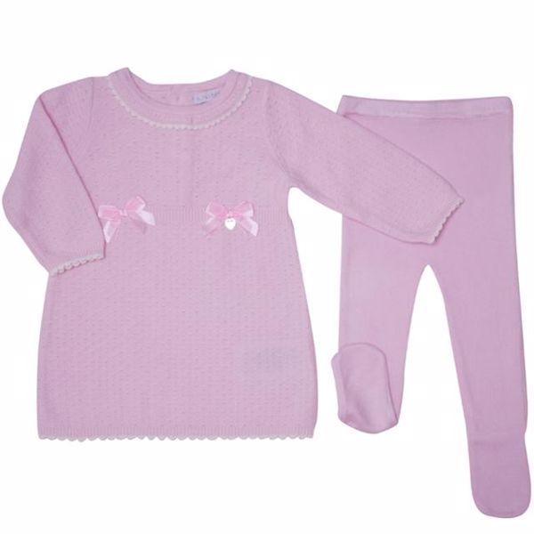 Bluesbaby PP0168/2pcs Pink 2 részes lánykaruhás garnitúra - Brendon - 137204