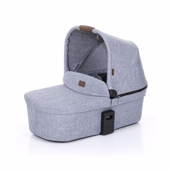 ABC Design Carrycot for Zoom, Zoom Air Graphite Grey vanička upevniteľná na konštrukciu detského kočíka - Brendon - 137330