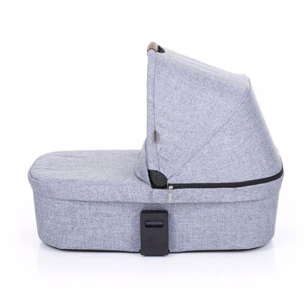 ABC Design Carrycot for Zoom, Zoom Air Graphite Grey vanička upevniteľná na konštrukciu detského kočíka - Brendon - 137331