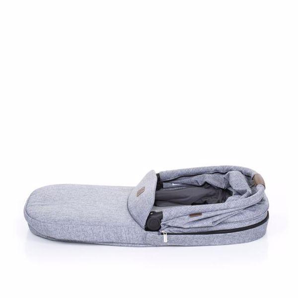 ABC Design Carrycot for Zoom, Zoom Air Graphite Grey vanička upevniteľná na konštrukciu detského kočíka - Brendon - 137333