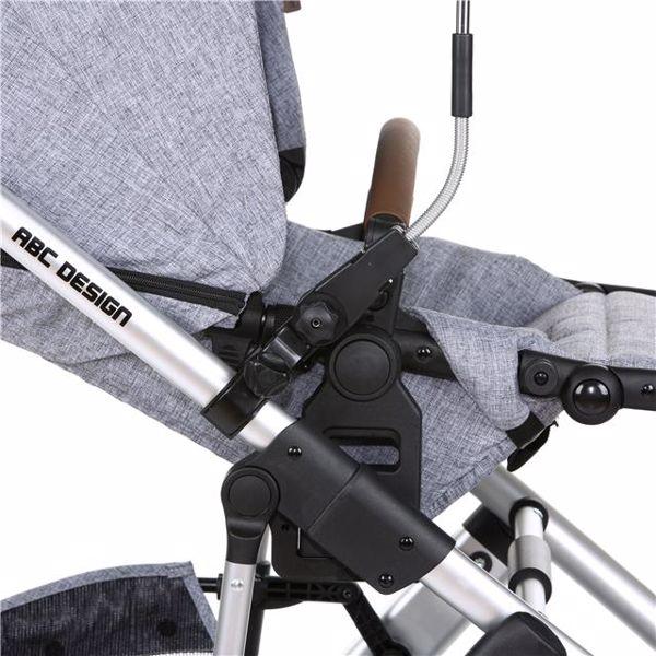 ABC Design Sunny Graphite Grey slnečník - Brendon - 137366