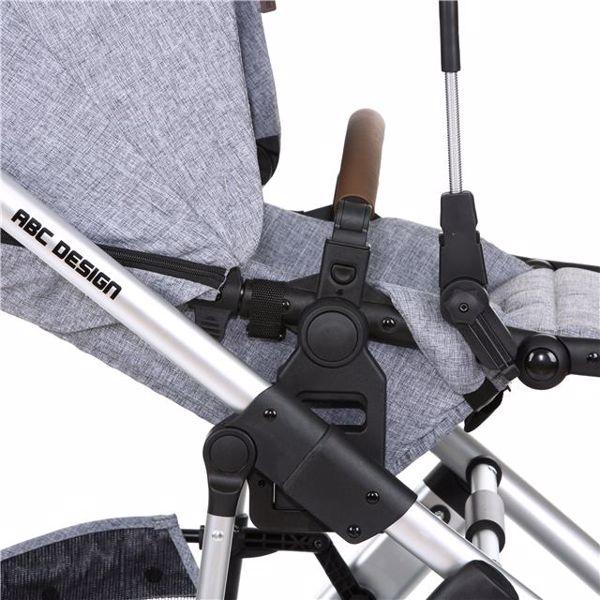 ABC Design Sunny Graphite Grey slnečník - Brendon - 137367