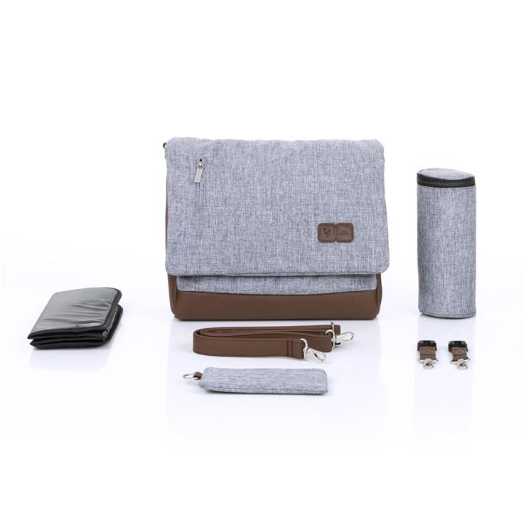 ABC Design Urban Graphite Grey taška na plienky - Brendon - 137456