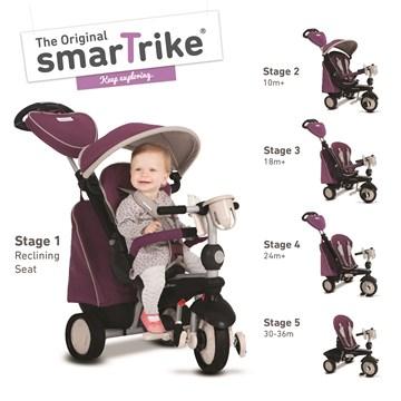 smarTrike Recliner Infinity  tricykel - Brendon - 138245