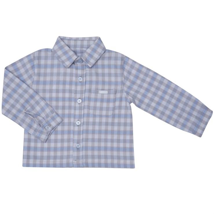 Bluesbaby PP0024/2pcs Grey Check 2 részes ünneplőruházat - Brendon - 139494