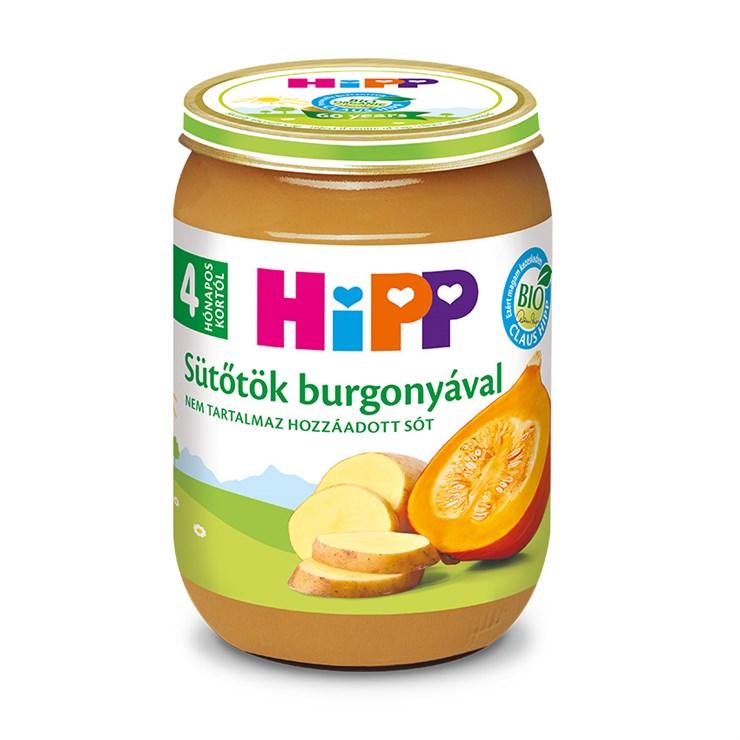Hipp Sütőtök burgonyával 190g  bébiétel - Brendon - 139735