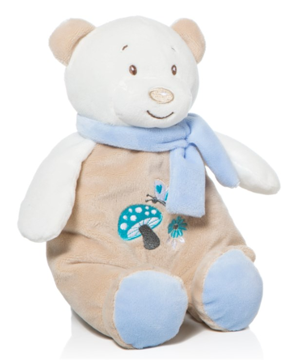 Artesavi Bear with scarf 28cm Blue plüss - Brendon - 140000