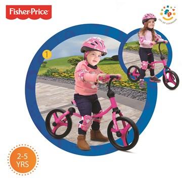 Fisher Price Running Bike Pink bicyklové odrážadlo - Brendon - 140281