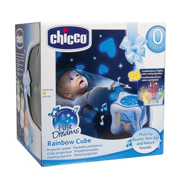 Chicco Rainbow Cube Boy hračka na uspávanie - Brendon - 140941