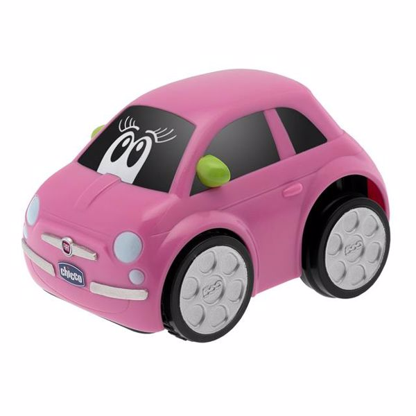 Chicco Fiat 500 Turbo Touch  Pink auto - Brendon - 140943
