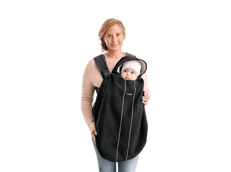 BabyBjörn Cover for Baby Carrier Black fusak ku klokanke - Brendon - 141186