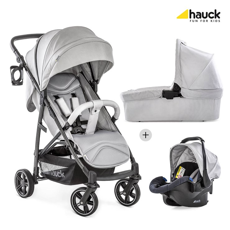 Hauck Rapid 4 S Trioset Deluxe LunarStone multifunkciós 3in1 babakocsi
