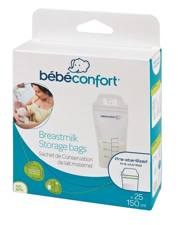 Bébé Confort 25 pcs Breast Milk Conservation Bags  tejtároló fagyasztózacskó - Brendon - 142915