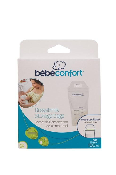 Bébé Confort 25 pcs Breast Milk Conservation Bags  tejtároló fagyasztózacskó - Brendon - 142916