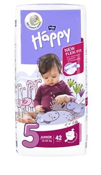 Bella Baby Happy Jumbo Junior 42 pcs New  eldobható pelenka - Brendon - 145624