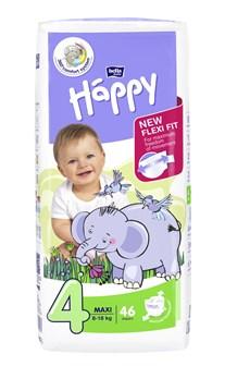Bella Baby Happy Jumbo Maxi 46 pcs New  eldobható pelenka - Brendon - 145625