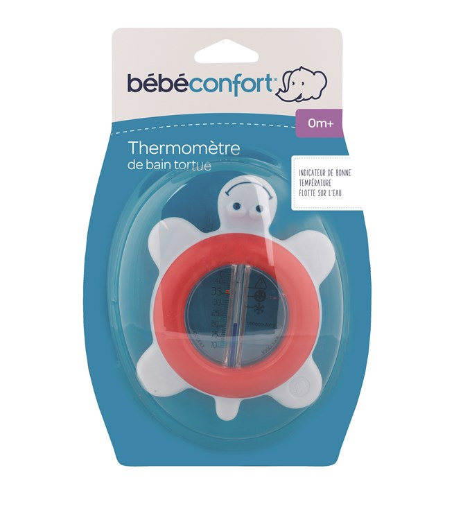 Bébé Confort Bath thermometer tortoise Navy Red vízhőmérő - Brendon - 146228