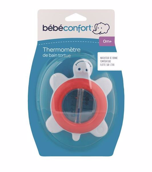 Bébé Confort Bath thermometer tortoise Navy Red teplomer do vody - Brendon - 147228