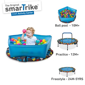 smarTrike Activity Center Trampoline 3 in 1  trambulin - Brendon - 148776