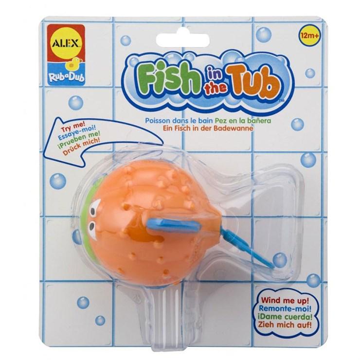 Alex Rub a Dub Wind-Up Fish in the Tub  fürdőjáték - Brendon - 148959