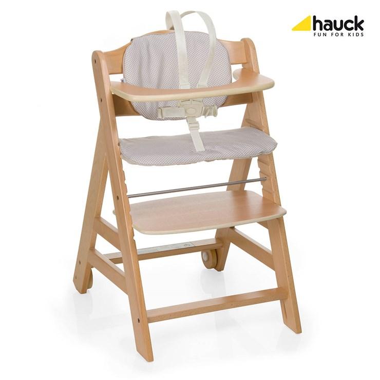 7d74a01ecf19 Hauck Beta+ Natur   Check drevená stolička na kŕmenie - Brendon - 149554 ...