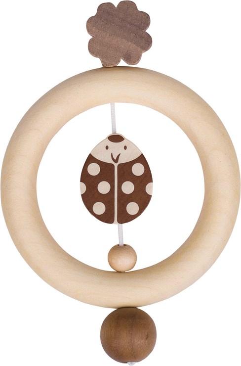 Heimess Touch ring ladybird Nature hrkálka - Brendon - 150023