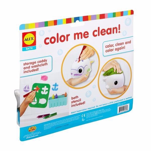 Alex Color Me Clean Whale  hračka do vody - Brendon - 150152
