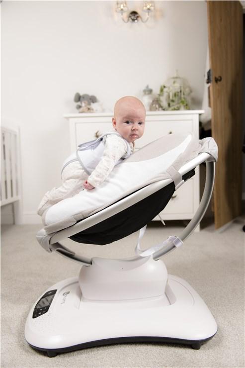 babocush Comfort Cushion Grey/White pihenőszék kiegészítő - Brendon - 151663