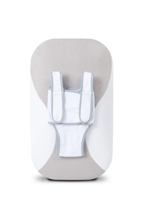 babocush Comfort Cushion Grey/White príslušenstvo ku kreslu na odpočívanie - Brendon - 151850