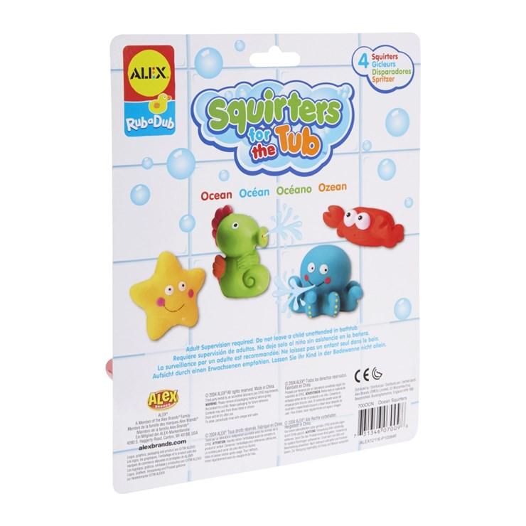 Alex Squirters For The Tub - Ocean  hračka do vody - Brendon - 151856