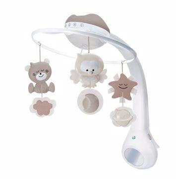 Infantino 3in1 Projector Musical Mobile Ecru hrací kolotoč - Brendon - 152160