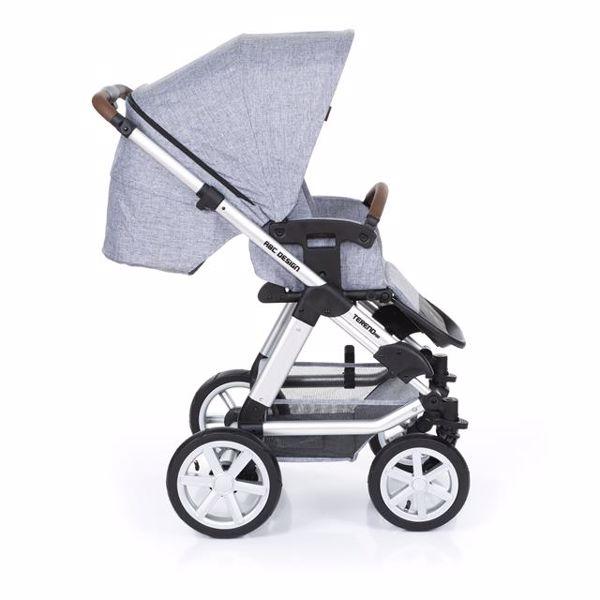 ABC Design Tereno Air Graphite Grey detský kočík - Brendon - 152498