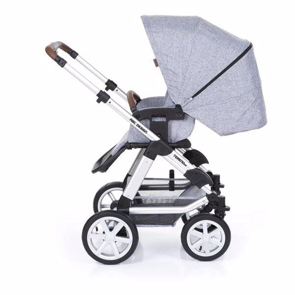 ABC Design Tereno Air Graphite Grey detský kočík - Brendon - 152500
