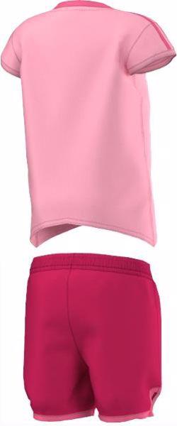 adidas S21458 Light Pink-Pink 2 dielna nohavicová súprava - Brendon - 156723