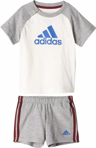 adidas BP5313 White-Grey 2 részes nadrágos garnitúra - Brendon - 157441