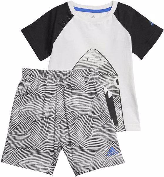 adidas CF7423 White-Black nohavice- 2 dielna súprava - Brendon - 157642