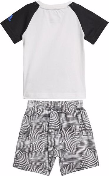adidas CF7423 White-Black nohavice- 2 dielna súprava - Brendon - 157643