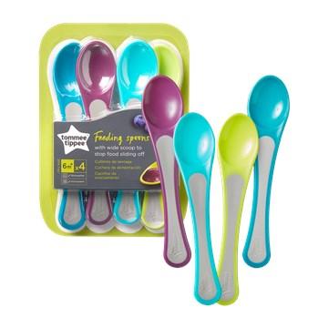 Tommee Tippee Explora spoon set 4 pcs  príbor - Brendon - 158924