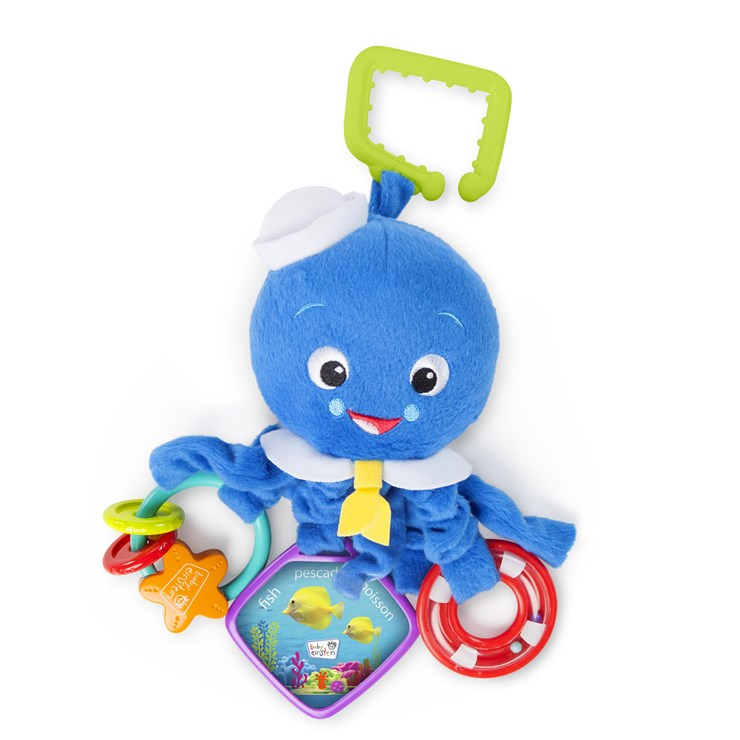 Baby Einstein Activity Arms Octopus  rögzíthető játék - Brendon - 159077