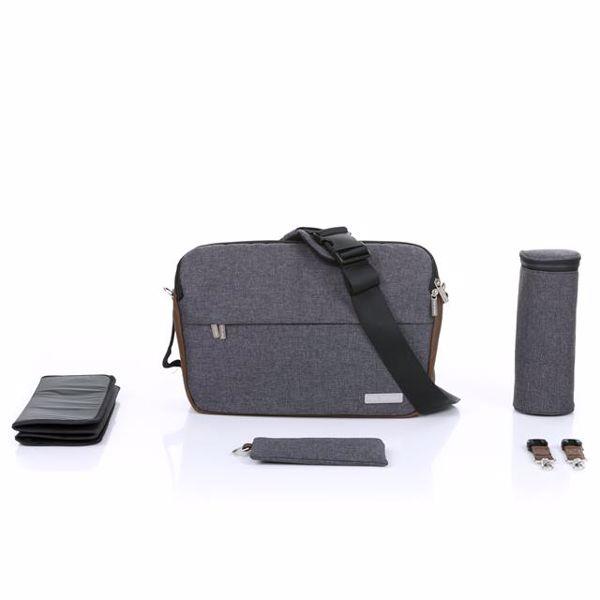 ABC Design Shoulder Bag Slide Asphalt taška na plienky - Brendon - 160405