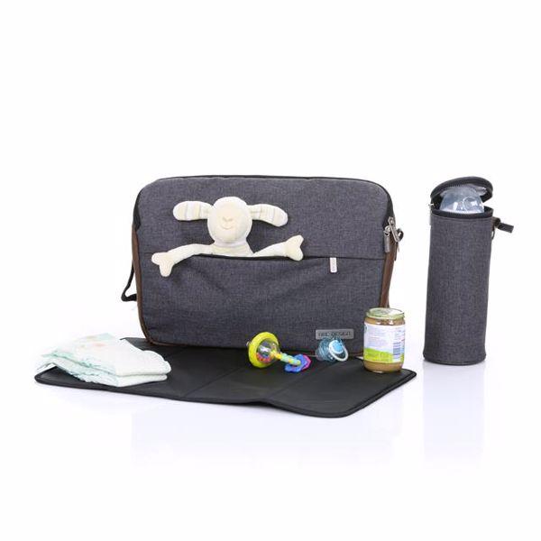 ABC Design Shoulder Bag Slide Asphalt taška na plienky - Brendon - 160407