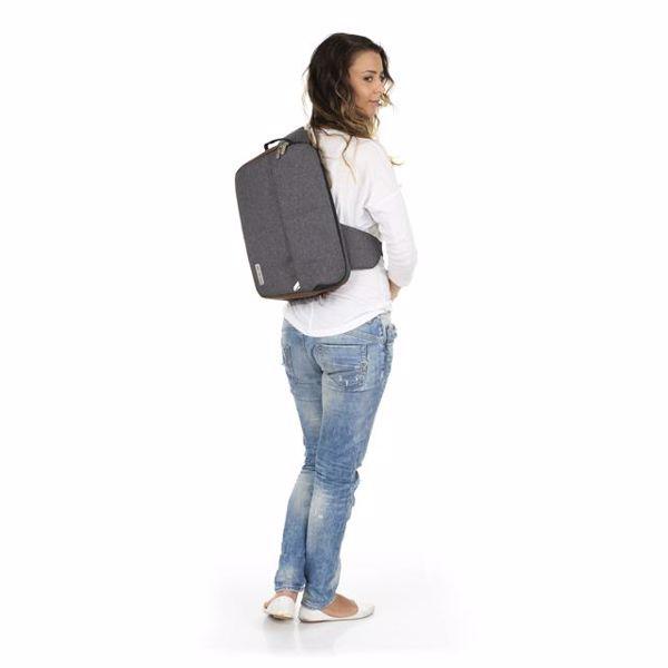ABC Design Shoulder Bag Slide Asphalt taška na plienky - Brendon - 160408