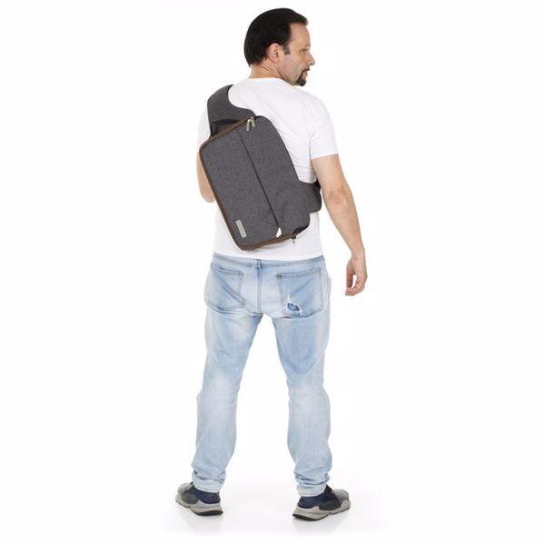 ABC Design Shoulder Bag Slide Asphalt taška na plienky - Brendon - 160409