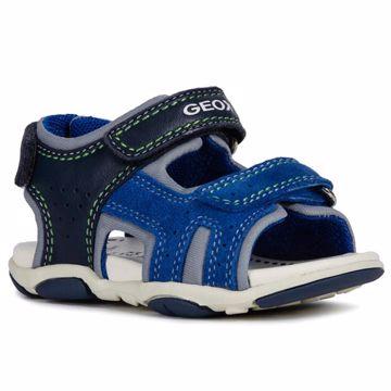 a0f36944e Geox B921AB-08522 C4226 Navy Royal 24-27 sandále
