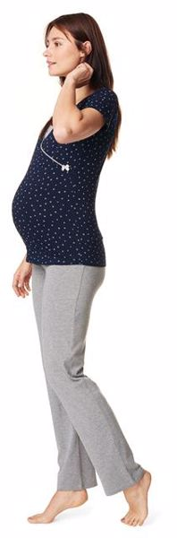... Noppies Maternity 66602 Mette 246 Grey Melange pizsama nadrág - Brendon  - 162733 00cf4959e5