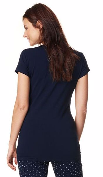 ... Noppies Maternity 66606 Aukje C165 Dark Blue pizsama felső - Brendon -  162739 ... b4a8362f3a