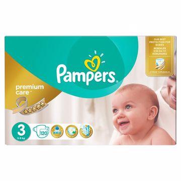 Pampers Premium Care Mega Box 3 Midi 120 pcs  eldobható pelenka - Brendon - 163025