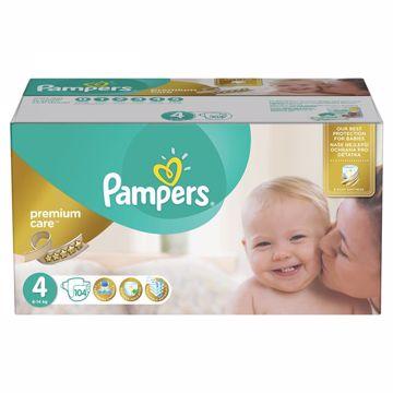 Pampers Premium Care Mega Box 4 Maxi 104 pcs  eldobható pelenka - Brendon - 163026