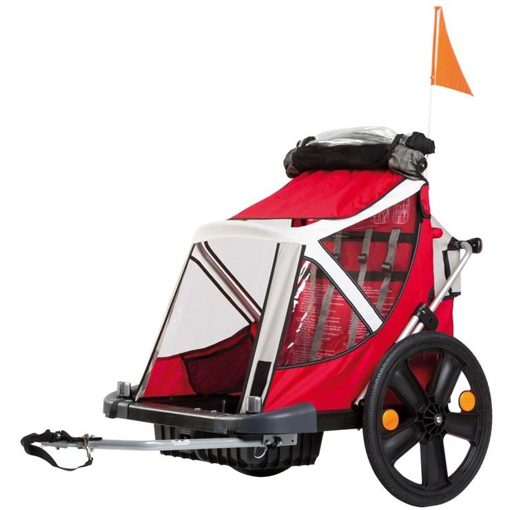 Bellelli B-Travel Red utánfutó biciklihez - Brendon - 163076